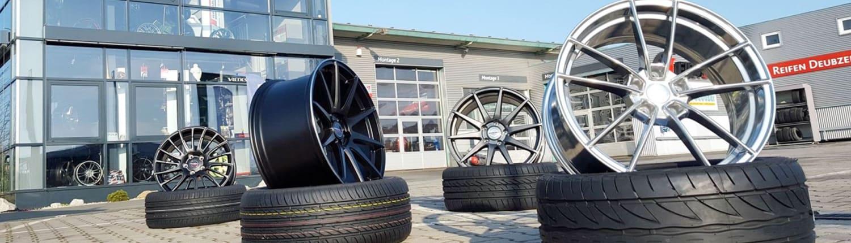 Reifen und Felgen bei Deubzer