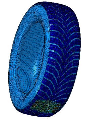 3D Reifen Simulation